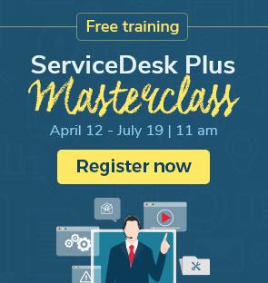 Service desk masterclass training