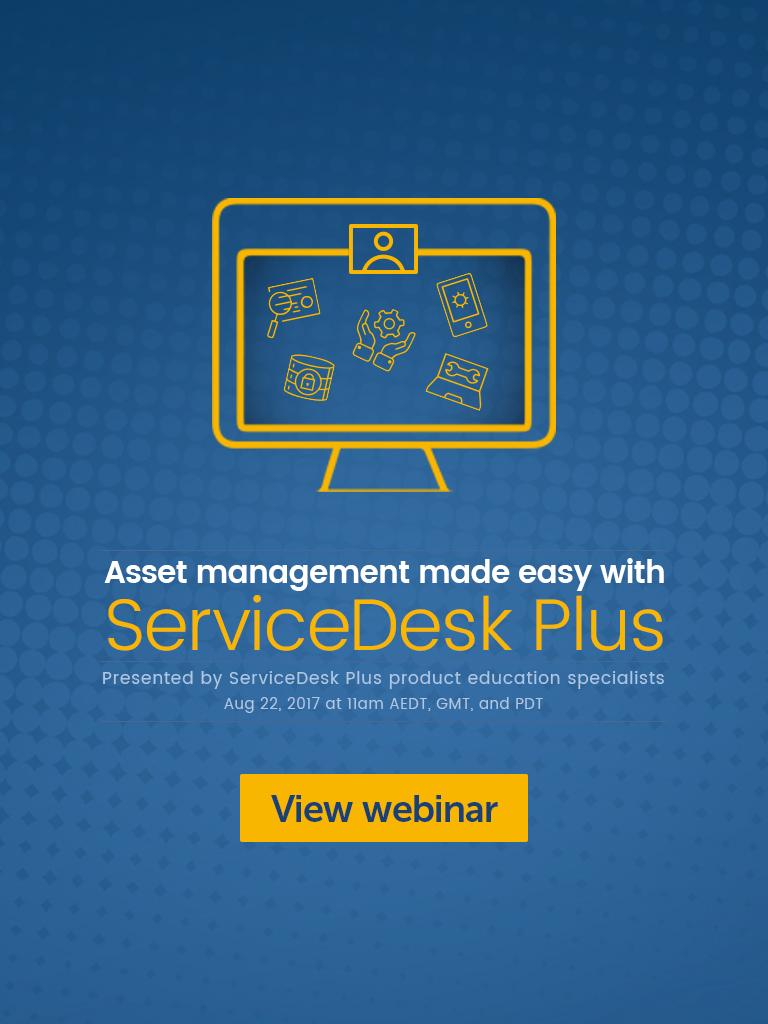 IT asset management (ITAM) webinar