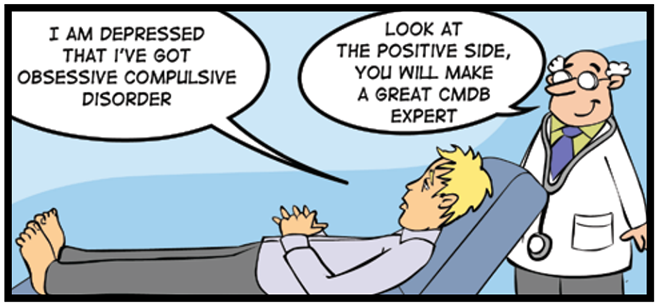 ITIL CMDB cartoon