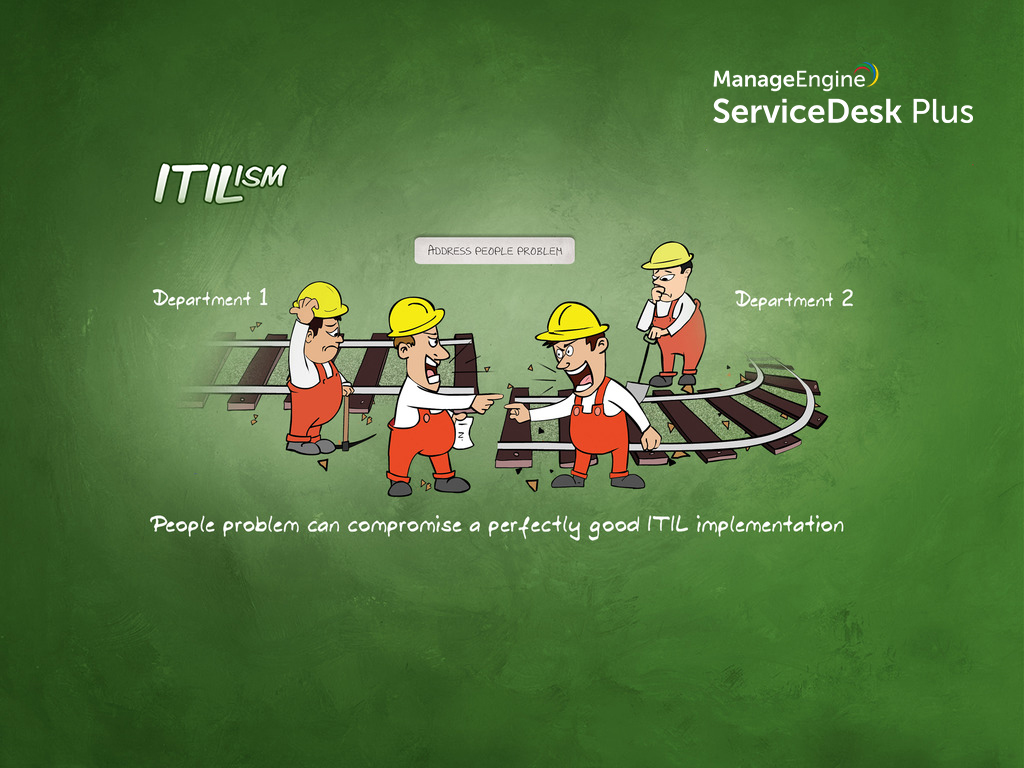 ITIL people problem