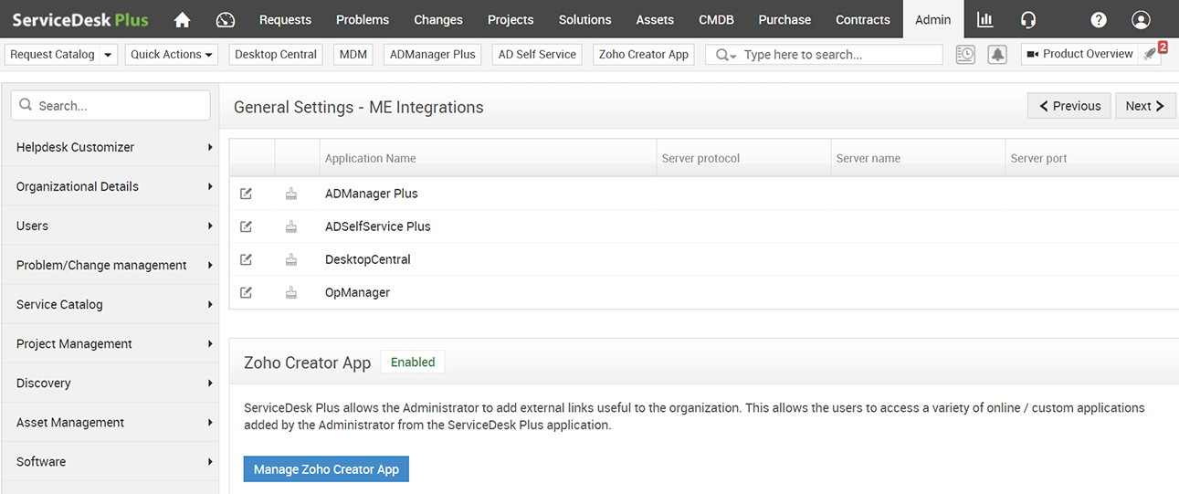 Awesome ME Integrations Nice Design
