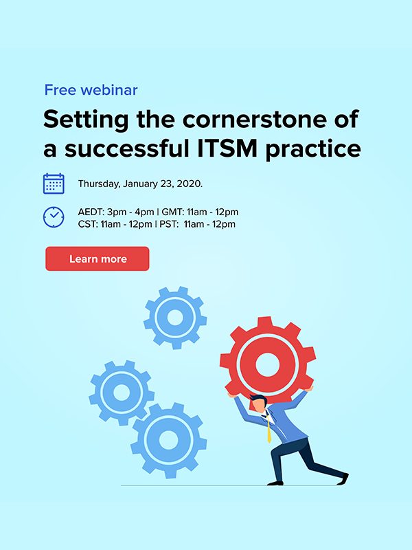 Free ITSM webinar