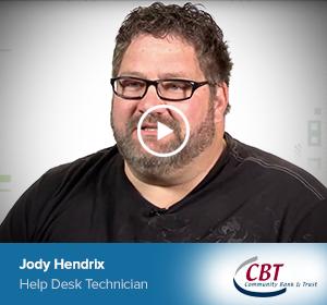 Jody Hendrix, Help Desk Technician