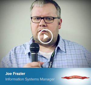 Joe Frazier, Information Systems Manager
