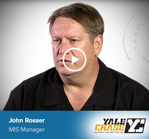 John Rosser, MIS Manager