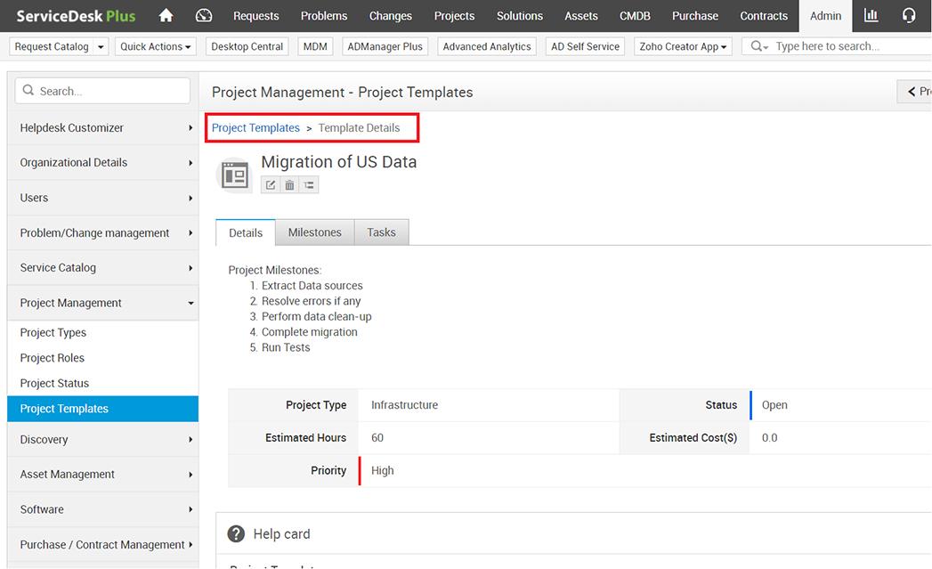 Servicedesk Plus 9 3 New Features Enhancements