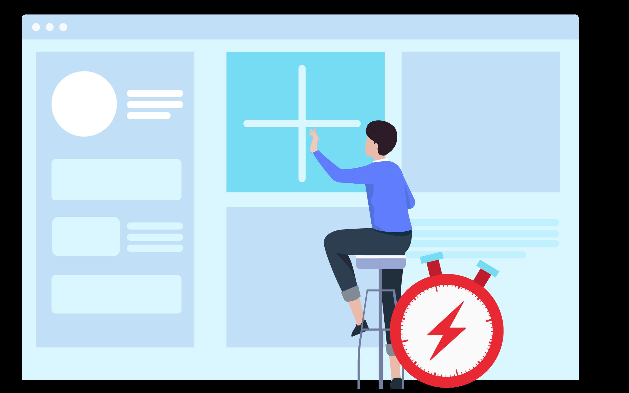 Mesa de servicio empresarial de inicio rápido