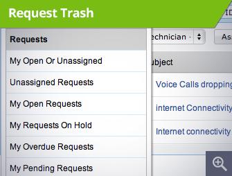 Request Trash