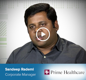 Sandeep Rademi, Corporate Manager