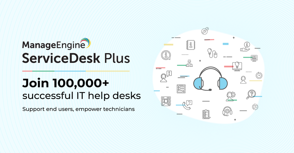 IT service desk software | ManageEngine ServiceDesk Plus