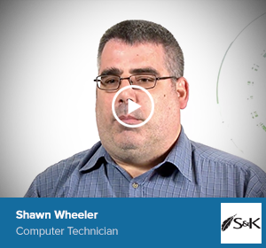 Shawn Wheeler, Computer Technician