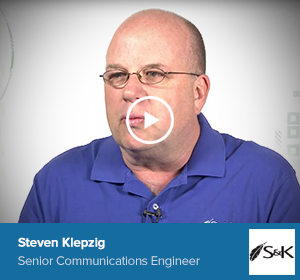 Steven Klepzig, Senior Communications Engineer