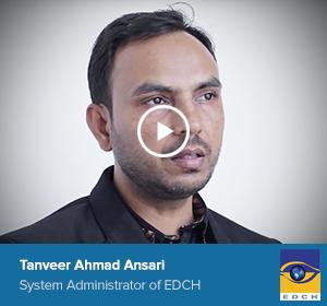Tanveer Ahmad Ansari, System administrator