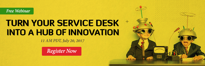 Turn your service desk into a hub of innovation