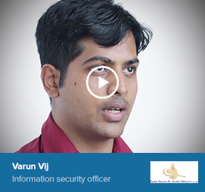 Varun Vij, Information security officer