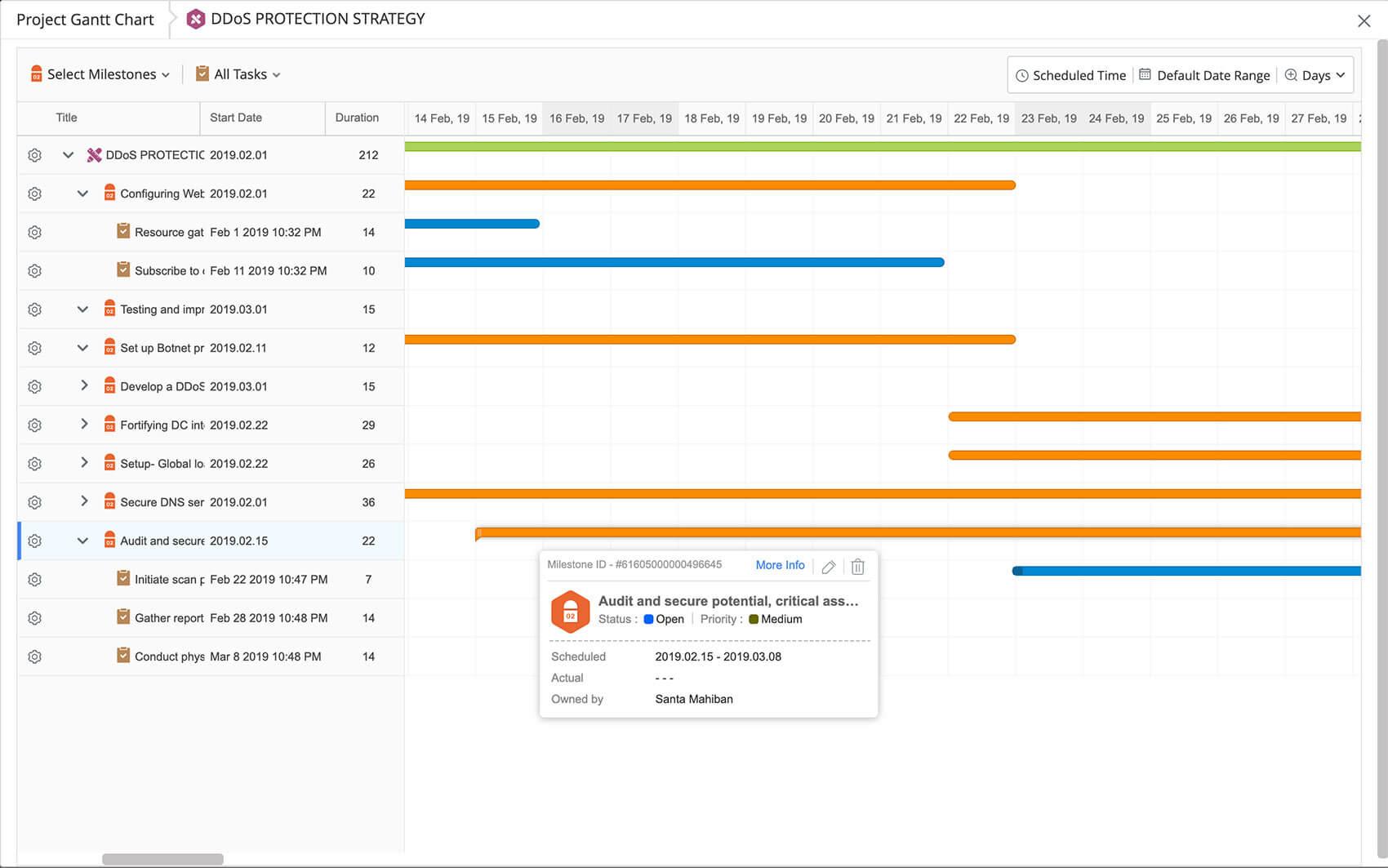 School project management software