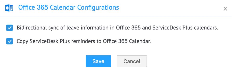 Microsoft Office 365 integration