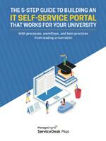 Portal de autoservicio de TI para la universidad