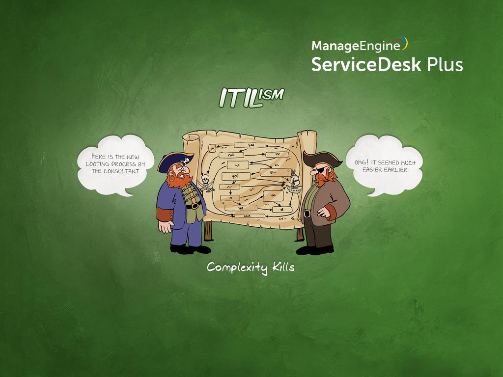 Complex ITIL process