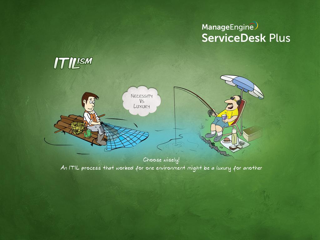 ITIL - Necessity vs luxury