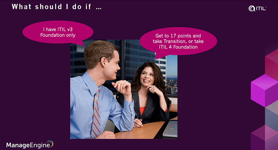 Transition to ITIL 4
