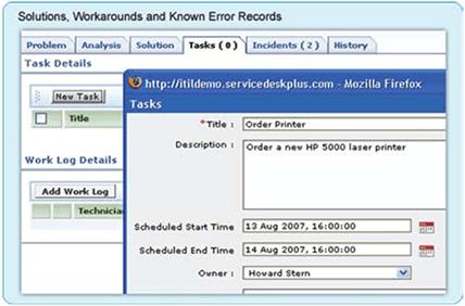 Problem known error