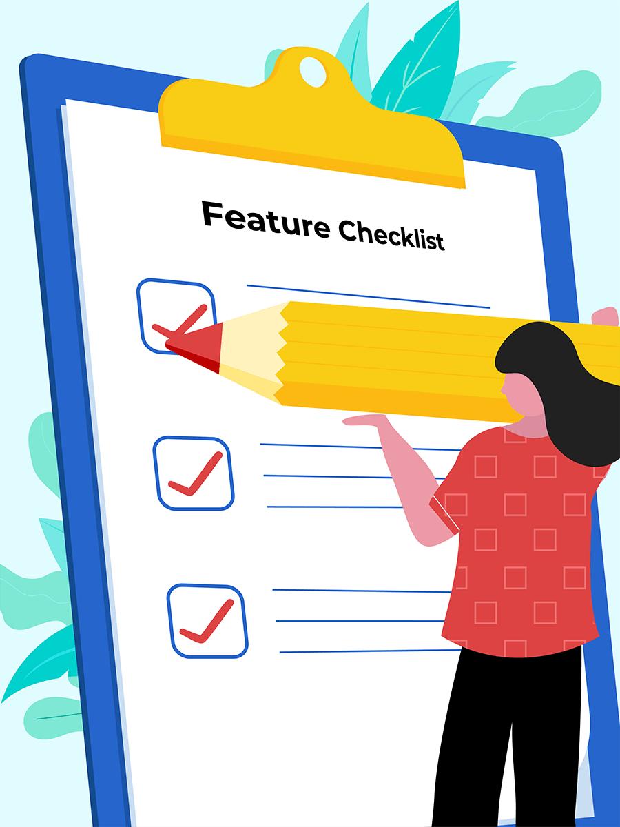Problem management sofware feature checklist