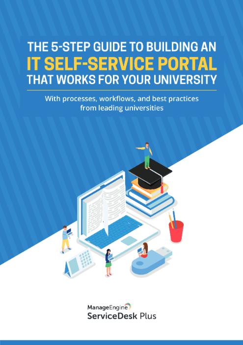 IT self service portal for university