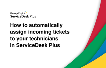 Auto assign helpdesk tickets