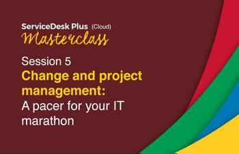 Cloud change project management