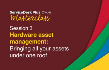 Cloud hardware asset management