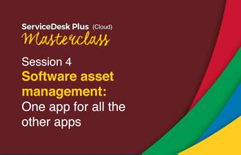 Cloud software asset management