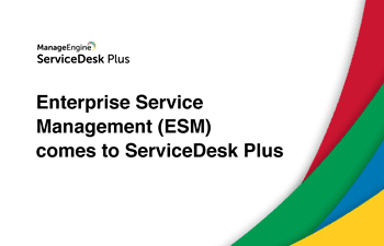 Enterprise service desk management