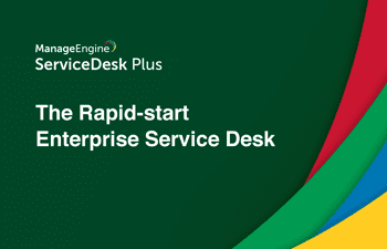 Enterprise IT service desk management