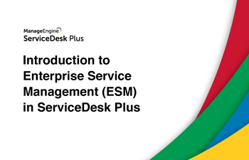 Enterprise service desk