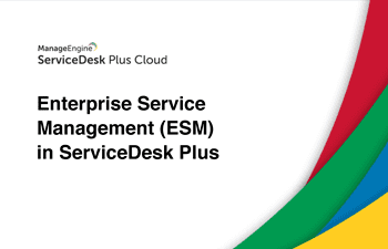 Enterprise service management