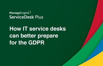 GDPR for IT service desk