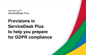 GDPR service desk software