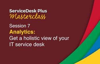 IT service desk analytics