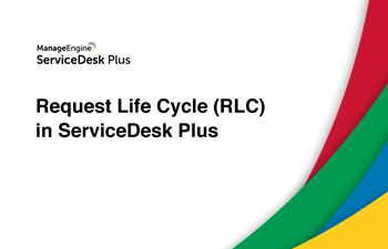Request life cycle (RLC) Cloud