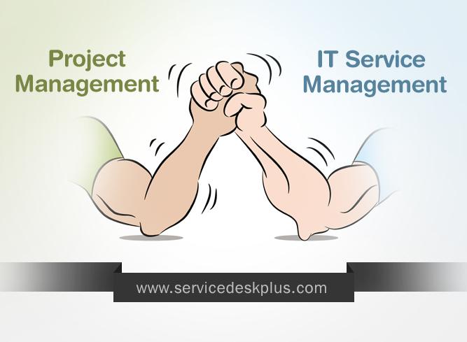Project management vs ITIL