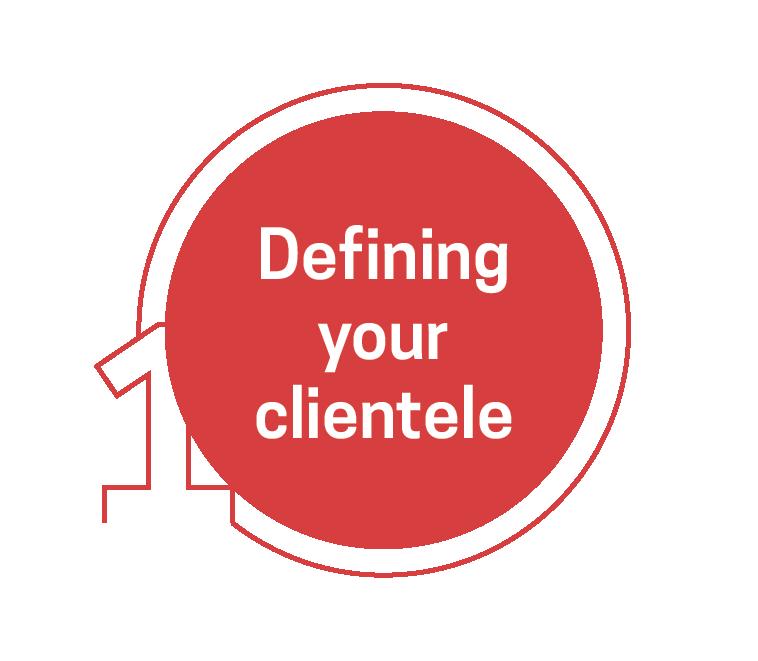 Defining your clientele