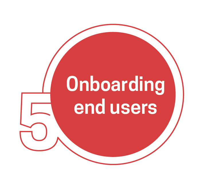 Onboarding process examples