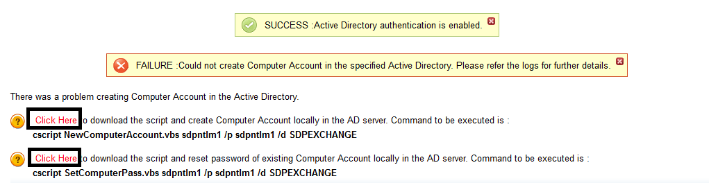 Active directory pass through authentication