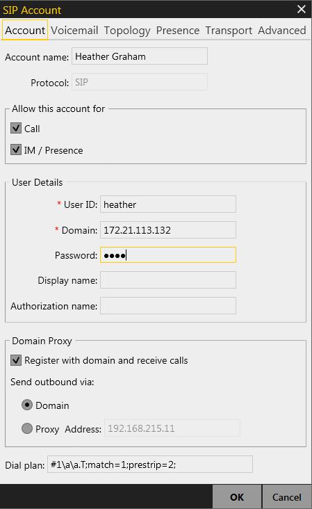 Asterisk CTI settings