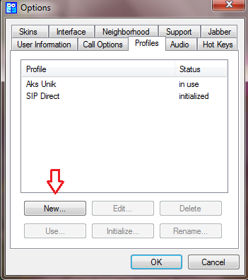 Asterisk CTI settings