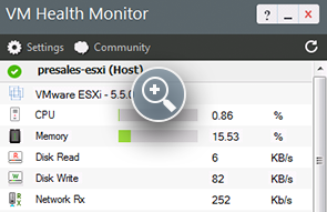Free VM Monitor Tool for VMware ESX & ESXi Servers - ManageEngine