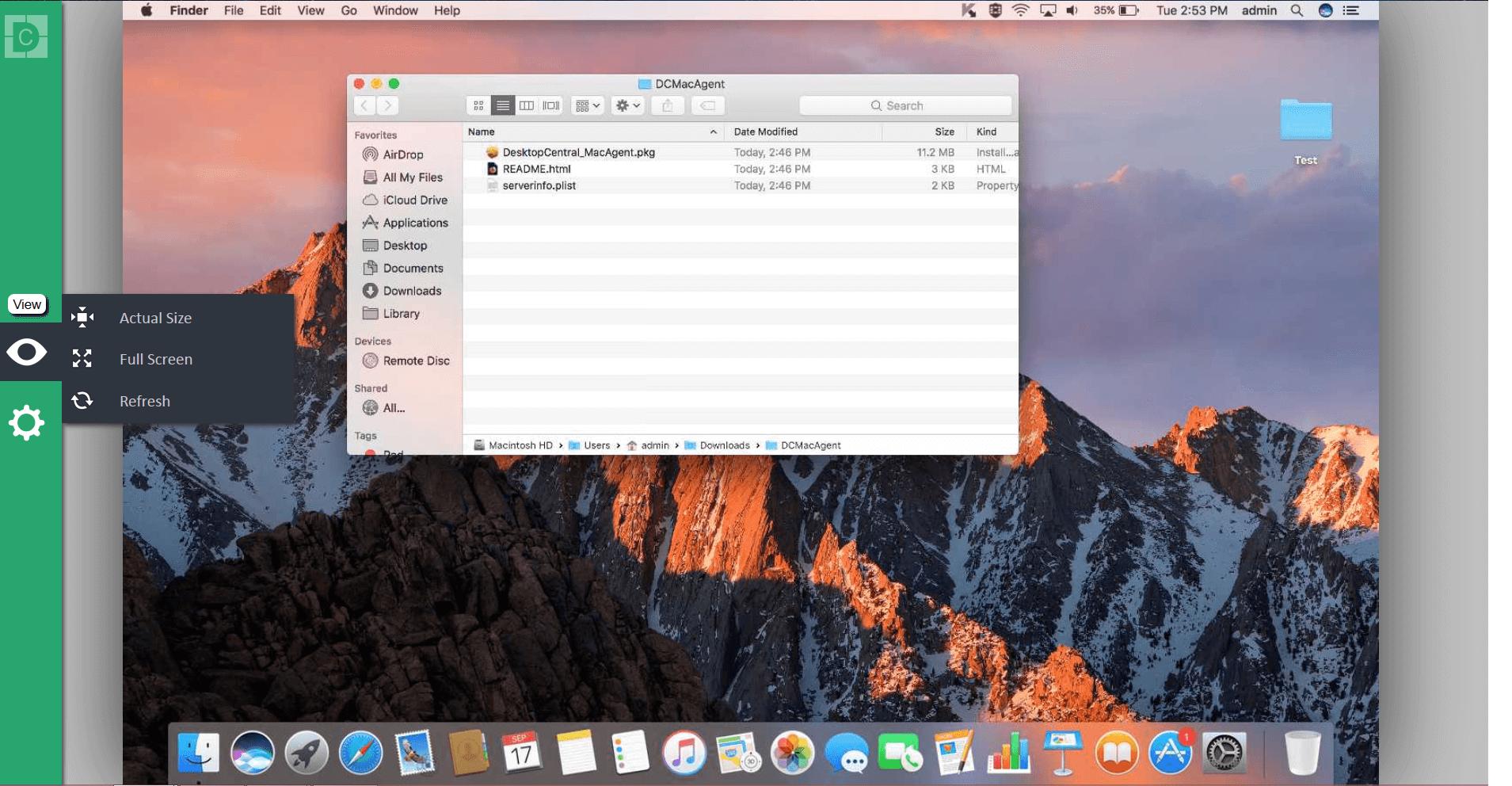 mac remote desktop