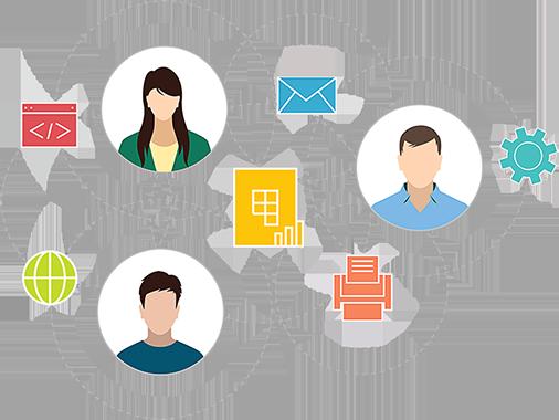Общий доступ и совместная работа