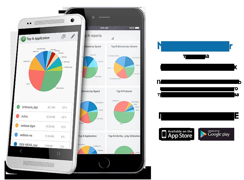 NetFlow Analyzer on Mobile